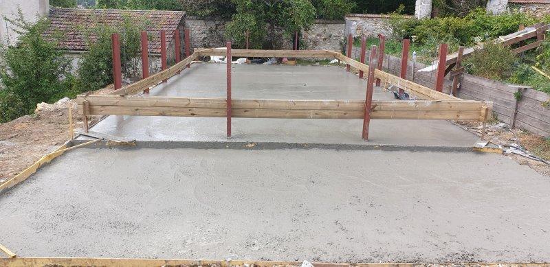 Installation piscine 12x6 chauffee avec terrasse bois