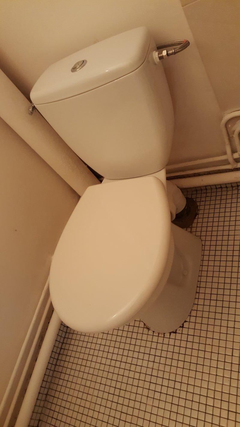 Installation nouveau WC