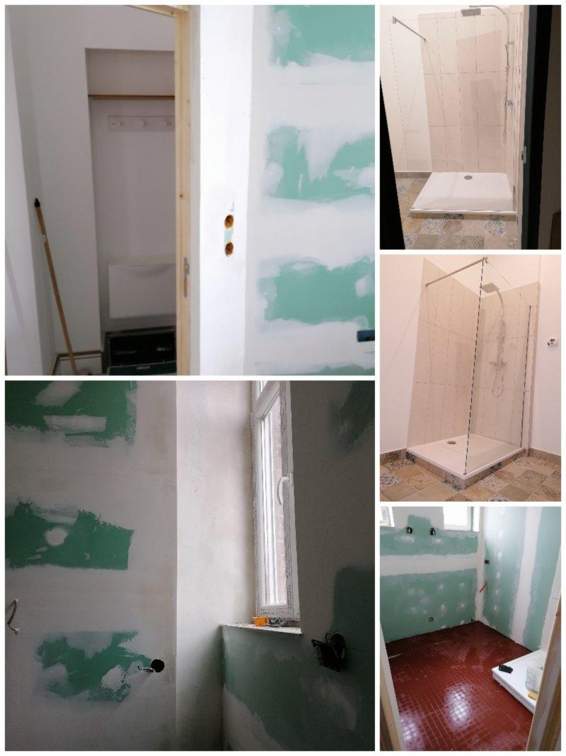 Création salle de douche