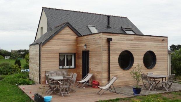 bardage en bois une maison en suisse