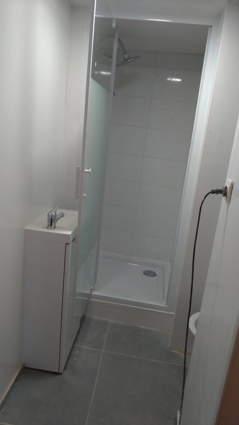 Création salle de bain wc
