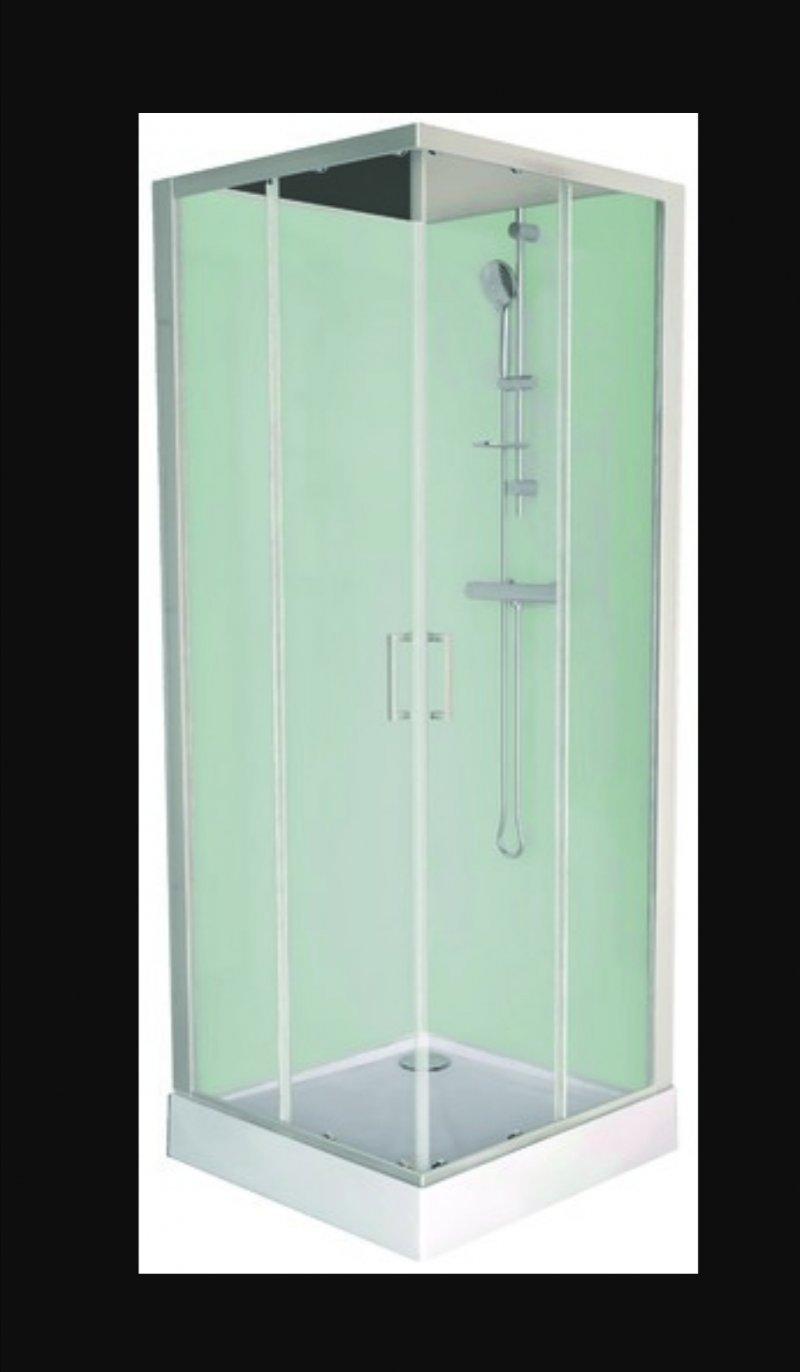 Pose cabine de douche porte coulissante