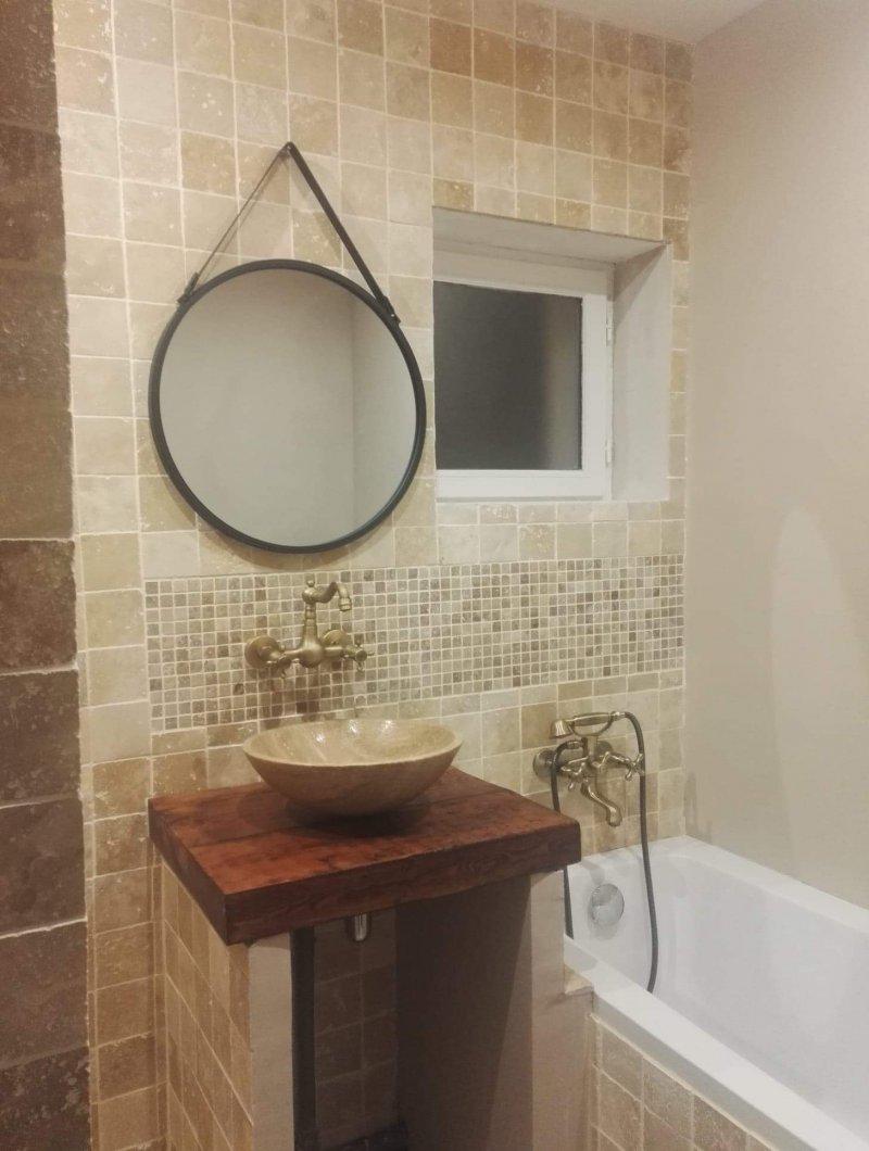 Salle de bain - pierre naturelle - 2
