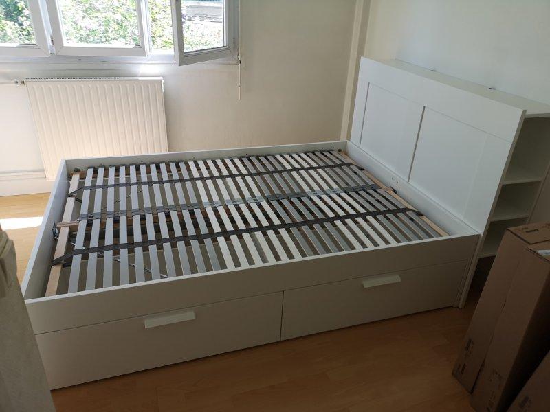Montage de lit IKEA complet_Courbevoie_Juillet 2020