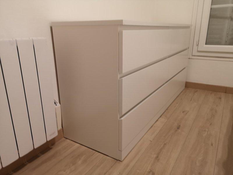 Montage de commode MALM 6 tiroirs IKEA_ Boulogne-Billancourt_Août 2020