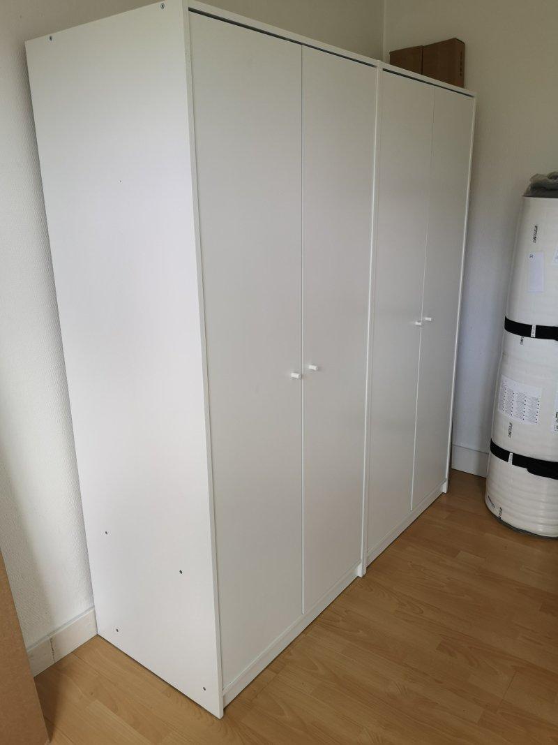 Montage de 2 dressings IKEA_Courbevoie_Juillet 2020
