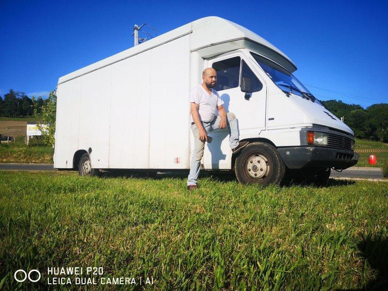 Déménagement avec mon camion grand volume à Annecy