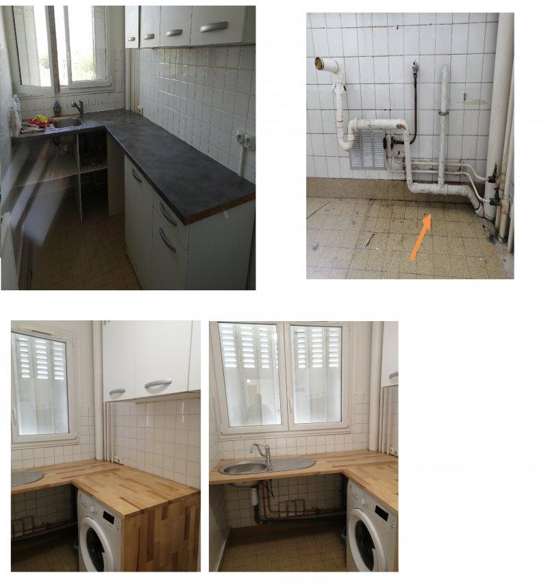 Cuisine Réaménagement Plomberie et Plan  de Travail