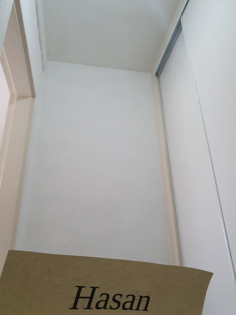 Peinture plafond, contour porte et armoire, murs, plinthes