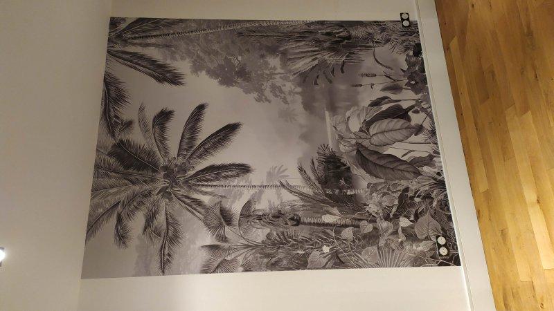 Papier peint avec raccord