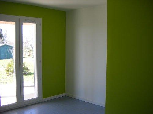chambre peinte couleur