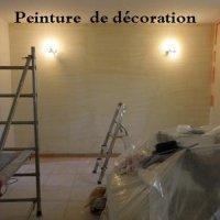 couloir peint