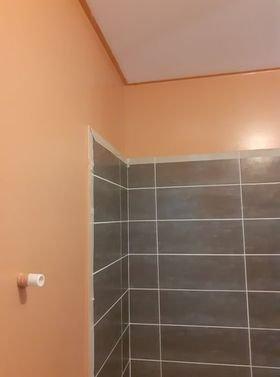 Peinture de mur deux couches