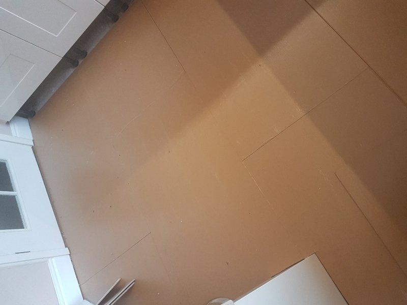 2 part insulating Subfloor