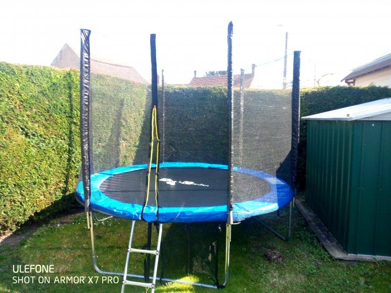 Montage trampoline