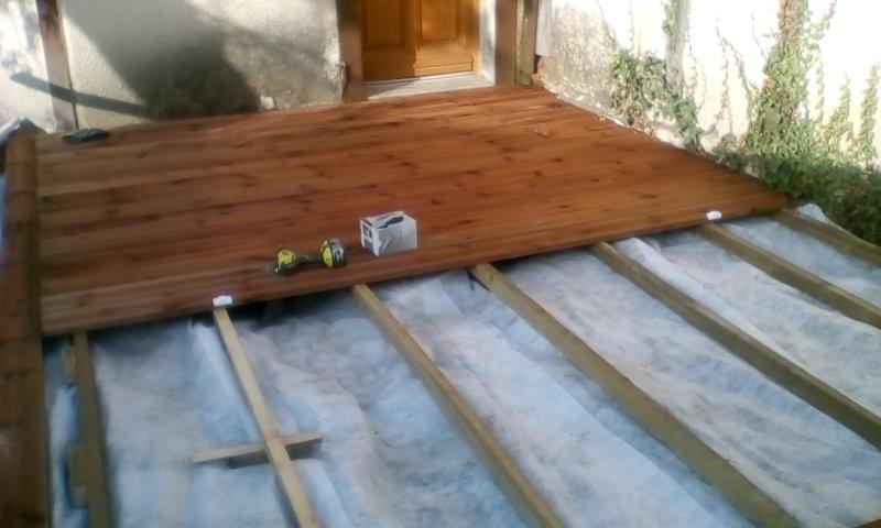 terrasse bois (suite)