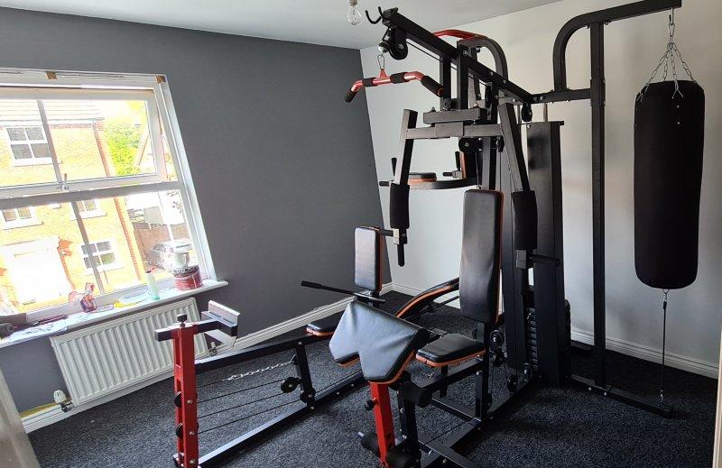 Multi-gym room build