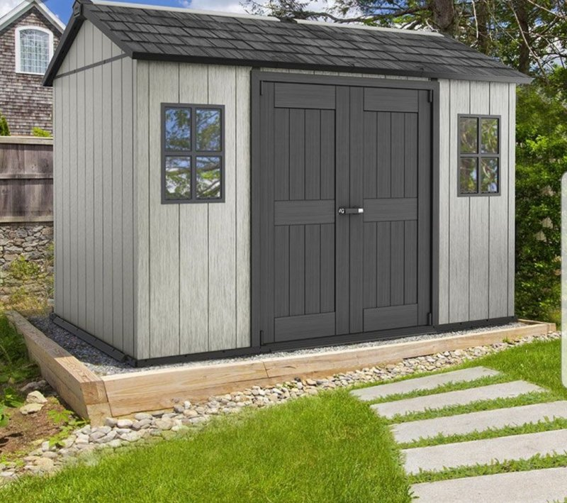 keter shed 6 × 4