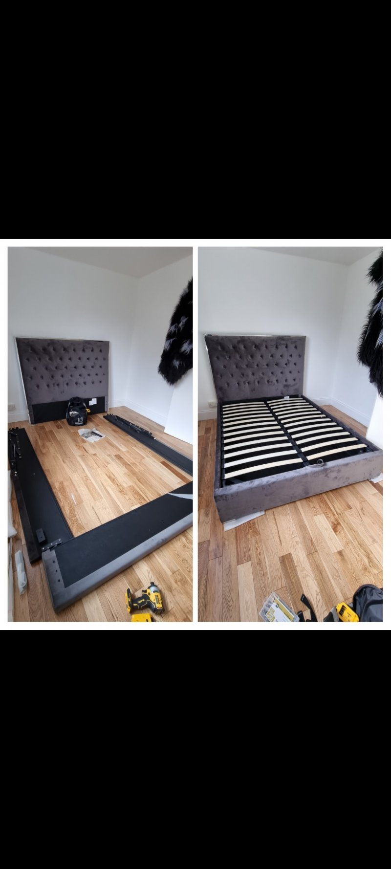 Build ottoman bed