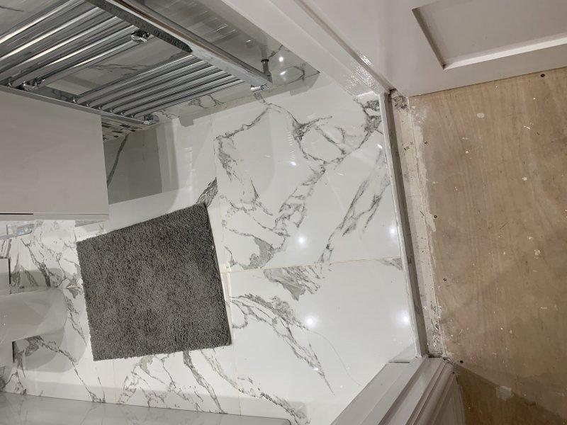 Romford job plumbing, electric and Tiling