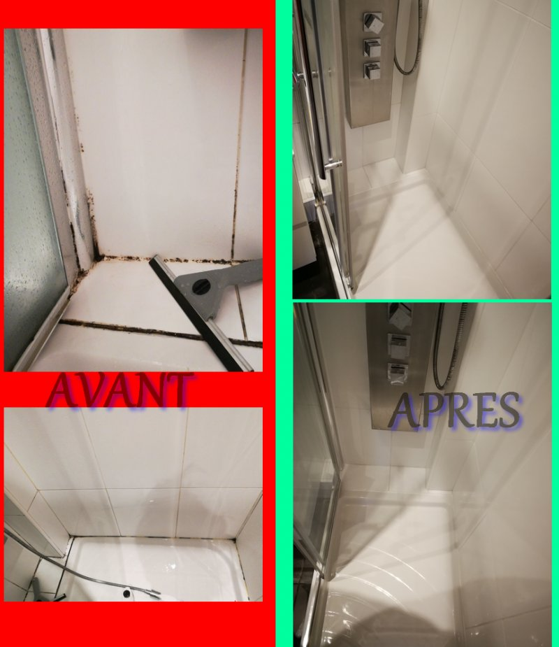 Rénovation Joints Douche