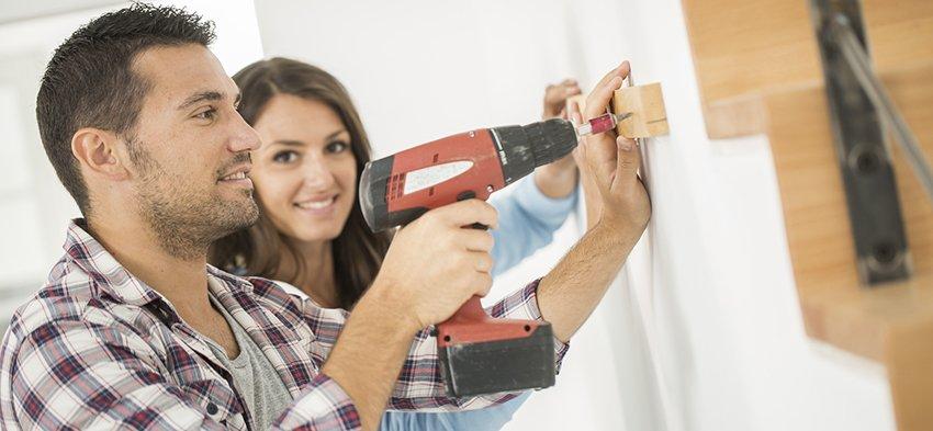 Bricolage à domicile en Suisse