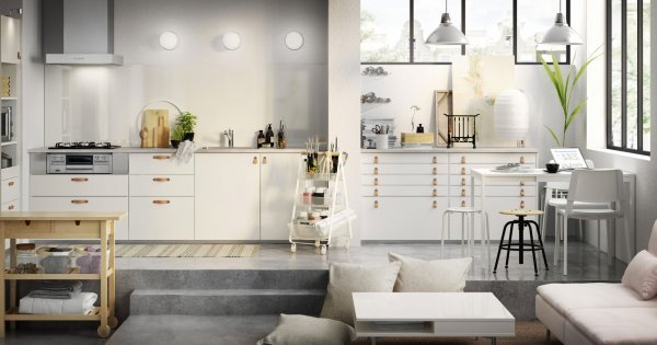 Installation de cuisine IKEA