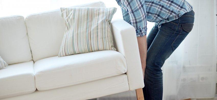 Livraison d'un meuble